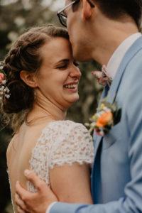 moody photo mariage jardin