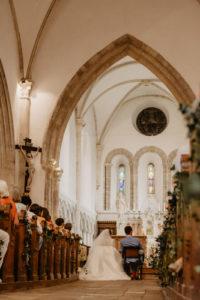 mariage reportage église photo
