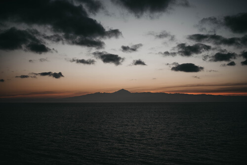 El Teide, coucher de soleil