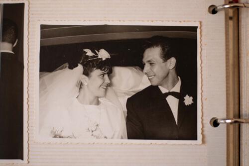 Mes grands parents à leur mariage