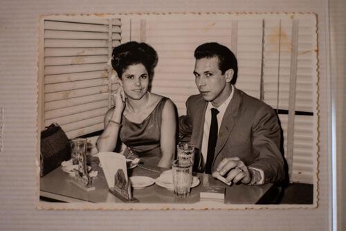 Mes grands parents dans les années 60