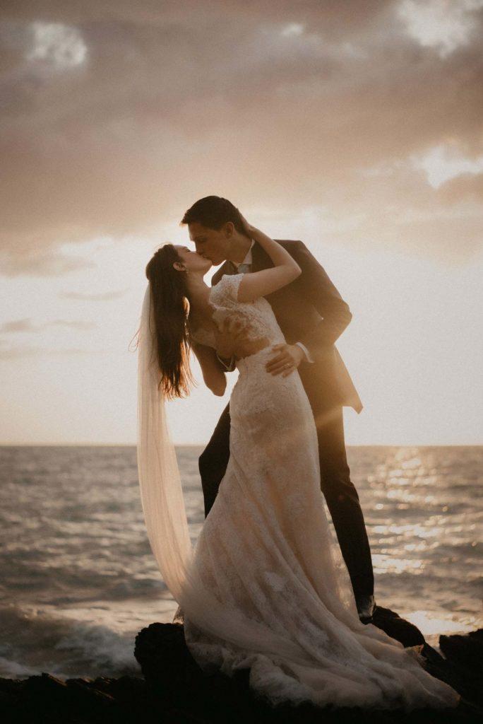 Mariage Art déco Granville eirin photography plage mer