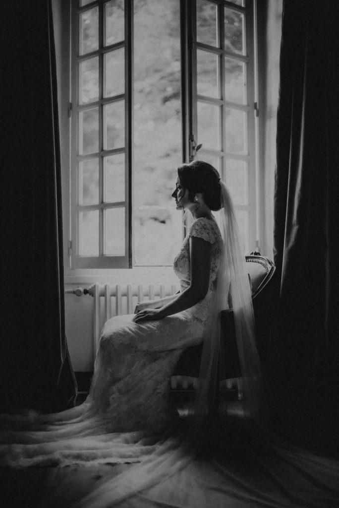 Mariage Art déco mariée
