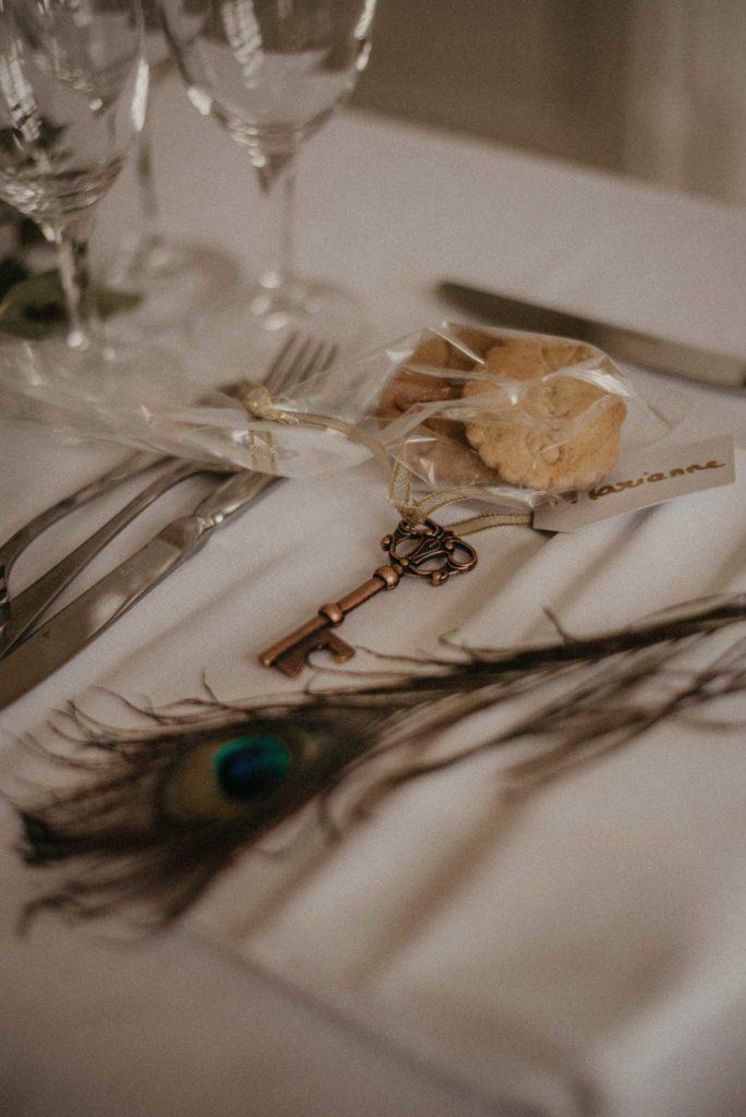 Mariage Art déco Granville déco de table détails