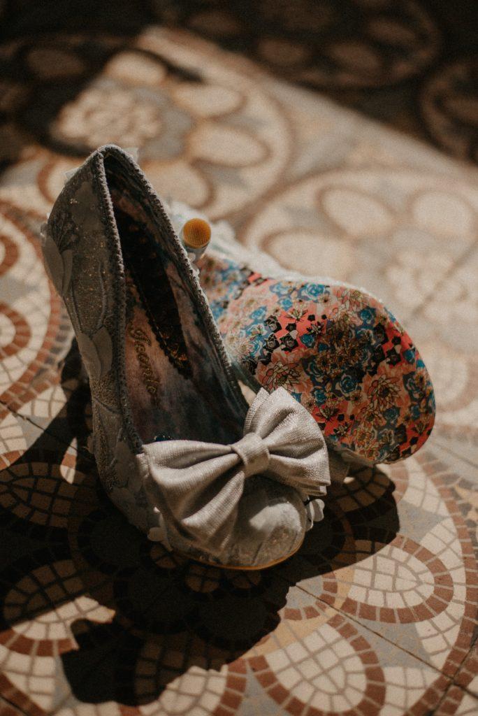 chaussures mariée disney original