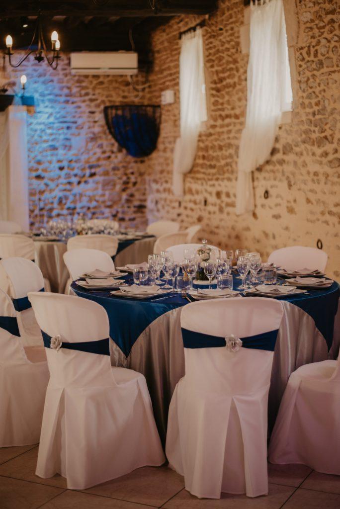 réception mariage disney élégant