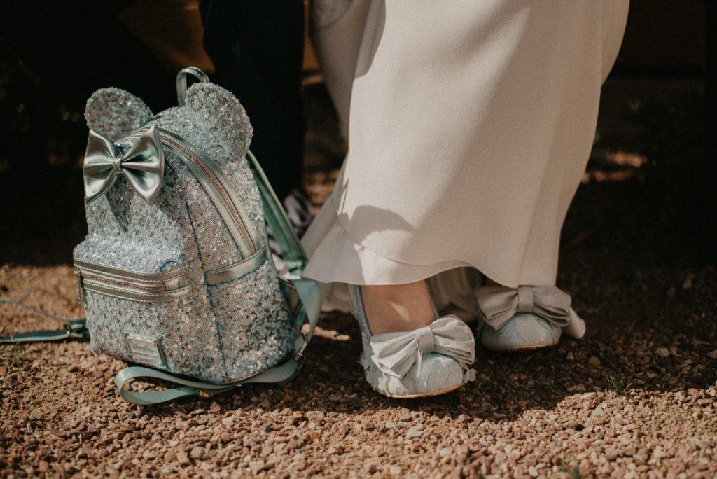 chaussures mariée disney geek original